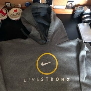 Nike Livestrong sweatshirt
